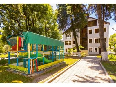 Пансионат  «Водопад»|Абхазия, Новый Афон| Территория, внешний вид