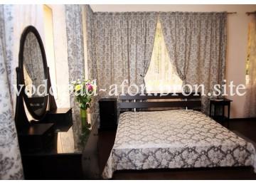 Люкс 2-местный 1-комнатный | Пансионат «Водопад»|Абхазия, Новый Афон Номера и цены