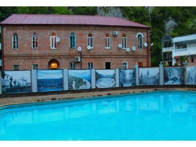 Пансионат  «Водопад»|Абхазия, Новый Афон| бассейн